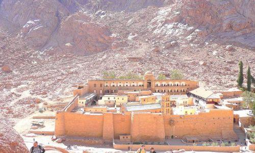 Zdjęcie EGIPT / Synaj / Pod górą Synaj / Klasztor Św.Katarzyny