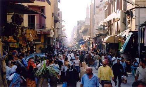 Zdjecie EGIPT / brak / Kair / bazar Khan el Khaili
