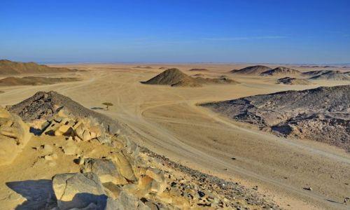 Zdjęcie EGIPT / Red Sea / Pustynia / Pustynna otchłań