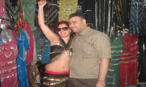Zdjęcie EGIPT / brak / Assuan /  Nie spotkałam lepszych handlarzy ....