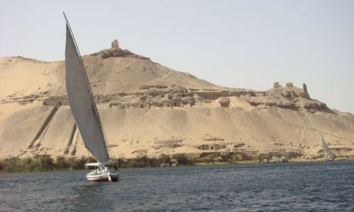 EGIPT / - / okolice Asuanu / Nil