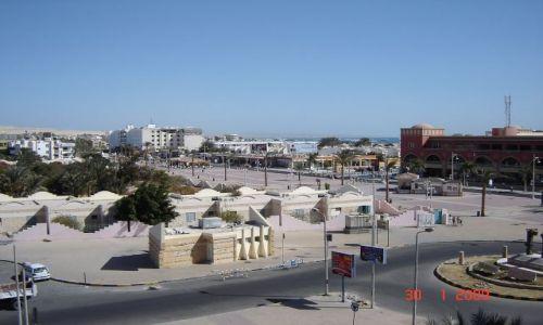 Zdjecie EGIPT / - / Hurghada / Hurghada za dnia