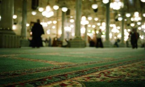 Zdjecie EGIPT / brak / Kair / Dywany w meczecie