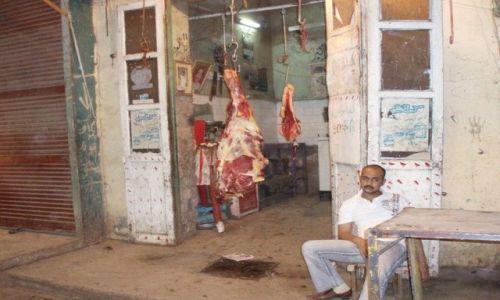 Zdjecie EGIPT / - / Luxor / Prawdziwy Egipt - sklep mięsny