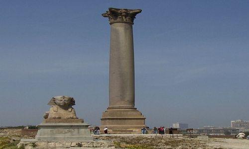 Zdjęcie EGIPT / - / Aleksandria / Co pozostało po największej świątyni