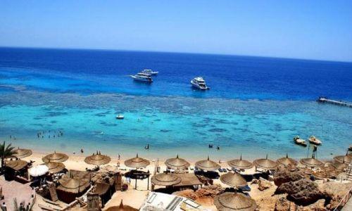 Zdjecie EGIPT / - / Sharm el Sheikh / Plaża Hadaba