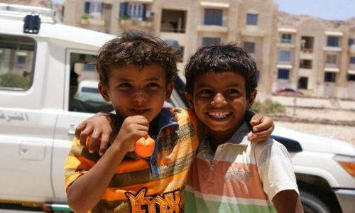 Zdjecie EGIPT / - / Dahab / Radość na ulicach Dahab