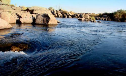 Zdjęcie EGIPT / Luxor / Nil / Wody Nilu