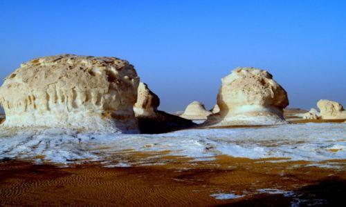Zdjecie EGIPT / Sahara/Pustynia Zachodnia / Biała pustynia / Konkurs
