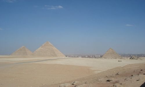 Zdjecie EGIPT / - / EGIPT-GIZA / KONKURS-PIRAMID