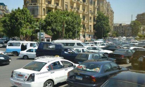 Zdjecie EGIPT / Kair / Kair / Ruch drogowy w Kairze