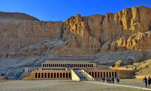 Zdjęcie EGIPT / Luksor / Luxor / Dolina królów zimą