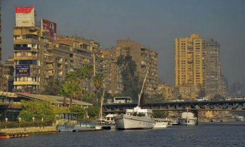 Zdjecie EGIPT / Kair / Kair / Mieszkania nad Nilem