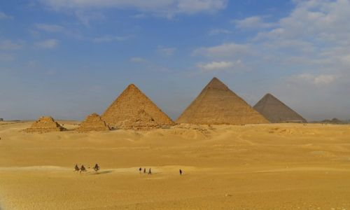 Zdjęcie EGIPT / Kair / Kair / W Gizie