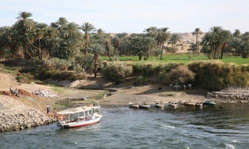 Zdjęcie EGIPT / okolice Abu Simbel / Nil / Przystań