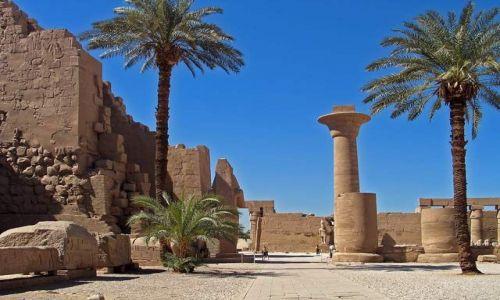 Zdjecie EGIPT / brak / Okolice Luksoru / Karnak