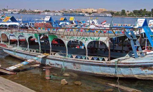 Zdjęcie EGIPT / brak / Luksor / Nil