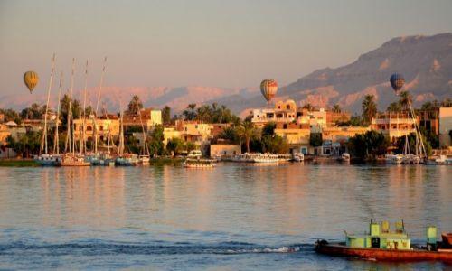 Zdjecie EGIPT / - / Luksor / O świcie