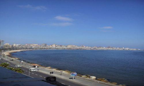 Zdjęcie EGIPT / Aleksandria / Centrum miasta / Widok z hotelowego pokoju