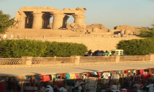 Zdjecie EGIPT / brak / Kom Ombo / świątynia