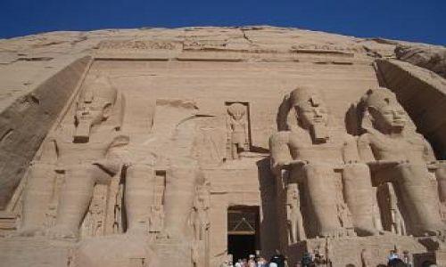 Zdjecie EGIPT / brak / Abu Simbel / świątynia Ramzesa II