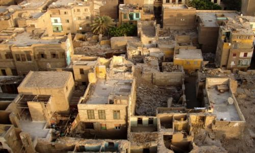 Zdjecie EGIPT / Kair / okolice Khan El Khalili / Kair po bombardowaniu?