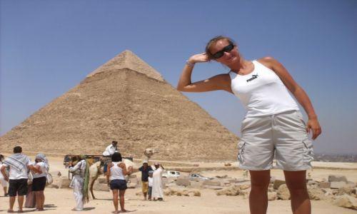 Zdjecie EGIPT / Kair / Giza / Piramidy