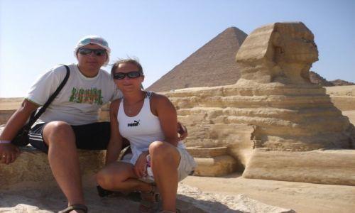 Zdjecie EGIPT / Kair / Giza / Nie ma jak pod Sfinksem