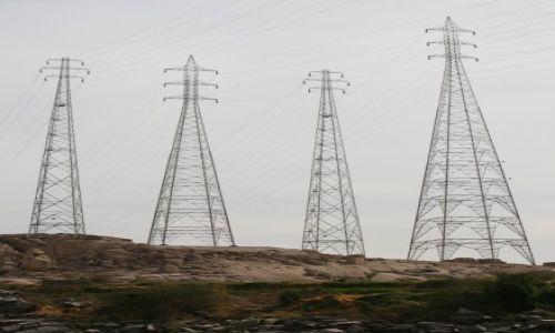 EGIPT / Asuan / Ponad Nilem / Energia Asuanu