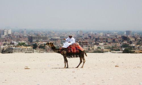 Zdjęcie EGIPT / Giza / Giza / Egipt, Giza, Piramidy