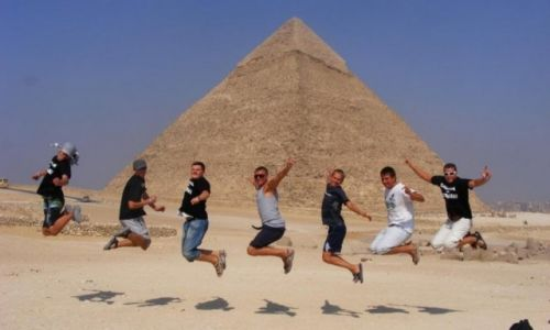 Zdjecie EGIPT / Giza / Piramidy / Emocje