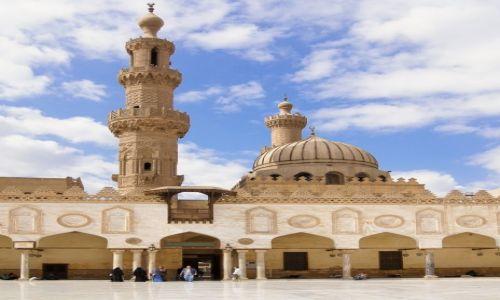 Zdjęcie EGIPT / Kair / dzielnica muzułmańska / meczet Al-Azhar