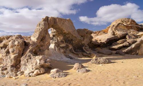 Zdjecie EGIPT / Sahara / Sahara / Formacje na pustyni