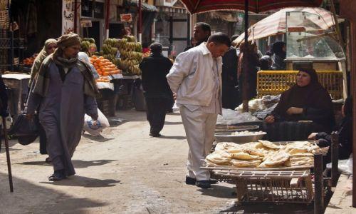 Zdjęcie EGIPT / Kair / dzielnica muzułmańska / Ulica