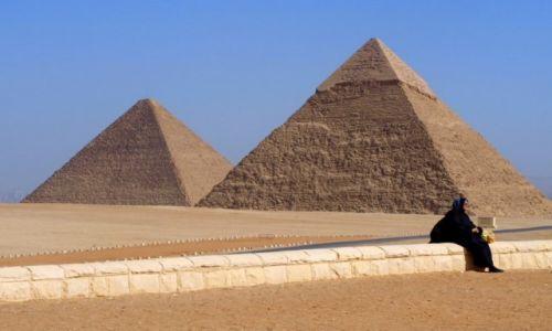 Zdjęcie EGIPT / - / Giza / Kobieta