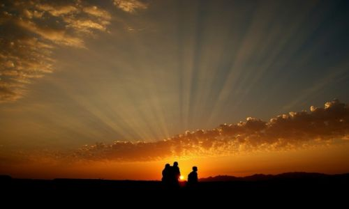 Zdjecie EGIPT / Synaj / Sharm el Sheikh / Zachód słońca