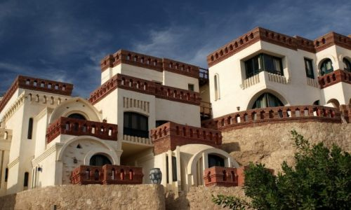Zdjęcie EGIPT / Synaj / Sharm el Sheikh / Arabska zabudowa