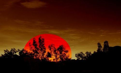EGIPT / Synaj / Synaj / Zachód słońca