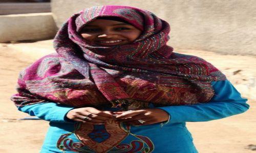 EGIPT / Asuan / Wioska nubijska / Nubijka