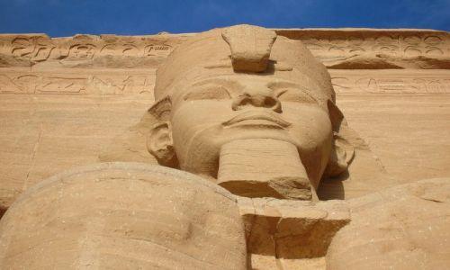 Zdjęcie EGIPT / - / Abu Simbel / Świątynia Ramzesa II