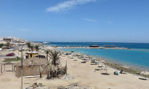 Zdjęcie EGIPT / środkowy Egipt / Hurghada / egipska plaża