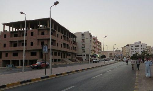 Zdjęcie EGIPT / środkowy Egipt / Hurghada / ulice Hurghady