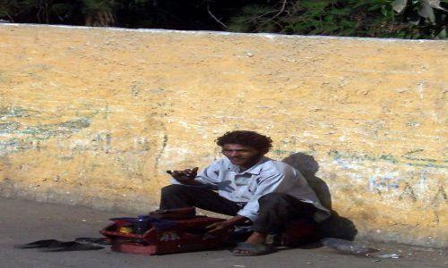 Zdjecie EGIPT / Kair / Ulica / czyścibut