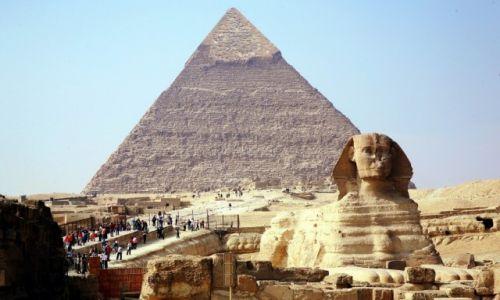 Zdjęcie EGIPT / Aglomeracja Kairu / Giza / Wielki Sfinks