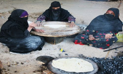 Zdjęcie EGIPT / Hurghada / Pustynia Arabska / W gościnie u beduinów