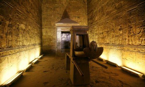 Zdjęcie EGIPT / Z biegiem Nilu / Edfu / Świątynia Horusa