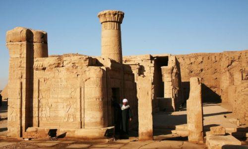 Zdjęcie EGIPT / Edfu / Świątynia Horusa / Pożegnanie