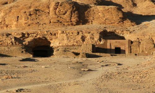 Zdjęcie EGIPT / Teby / Dolina Królów / Scieżka