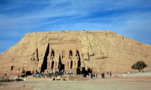 Zdjęcie EGIPT / Asuan / Dolna Nubia / Abu Simbel