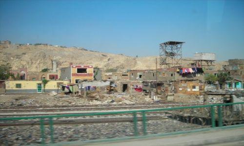 Zdjecie EGIPT / Kair / Kair / Przykry widok
